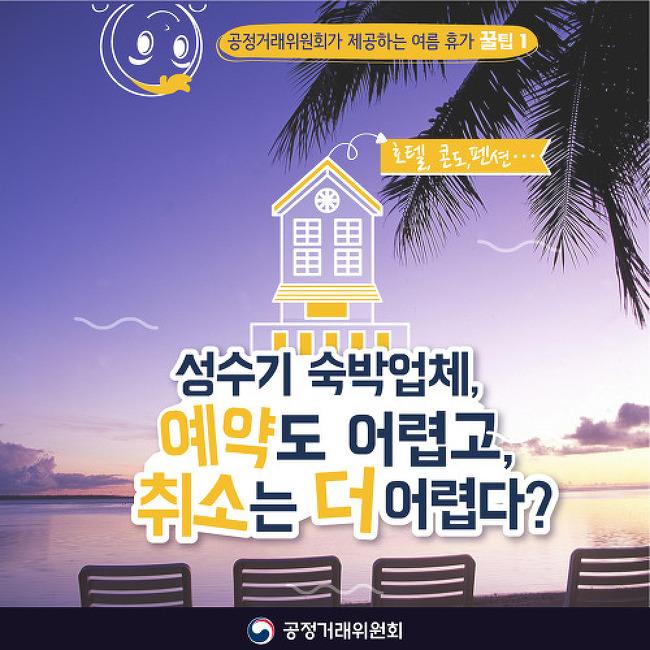 [카드뉴스]성수기 숙박업체, 예약도 어렵고, 취..