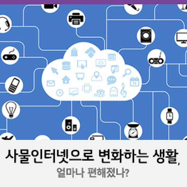 사물인터넷으로 변화하는 생활, 얼마나 편해졌나?