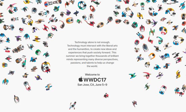 애플 WWDC 2017 일정과 장소, 6월 5일-9일 산..