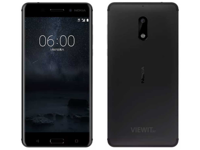 [스마트폰] 노키아 6(Nokia 6)