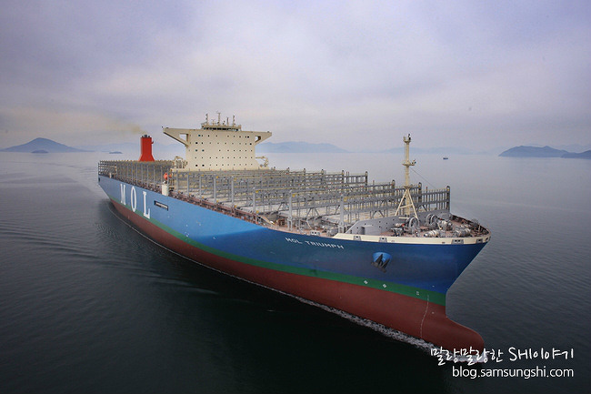 삼성重,  20,150TEU급 세계 최대 컨船 건조