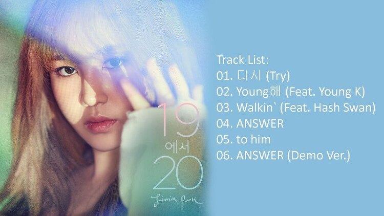 박지민  19에서 20,,,,- Walkin' 다시 너에게 Feat. Hash Swan