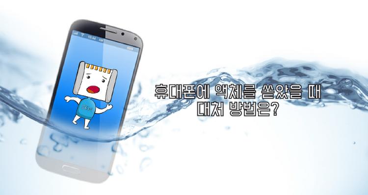[SEM의 생활 속 꿀팁] 휴대폰에 액체를 쏟았을 때 대처 방법은?