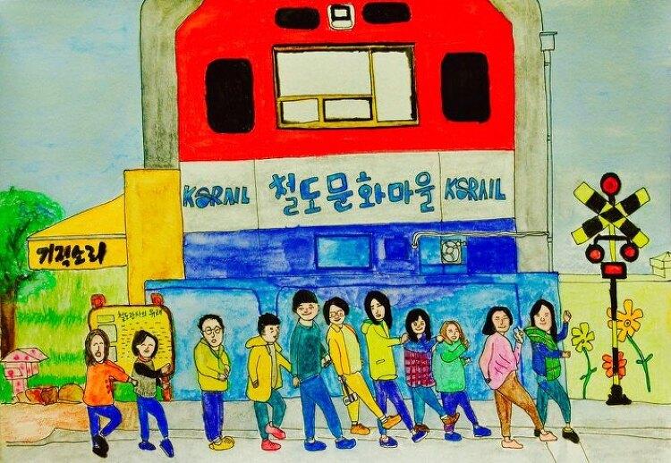 8월에 순천 철도 마을 축제가 열립니다.