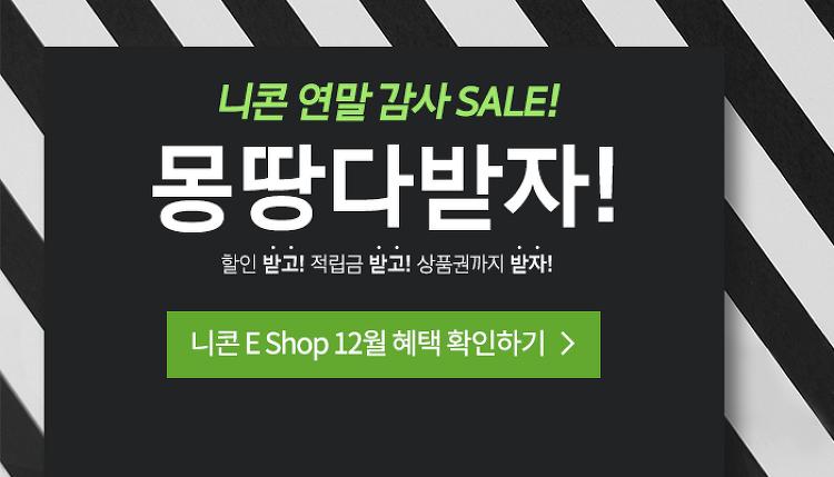 Nikon E-Shop 12월 이벤트