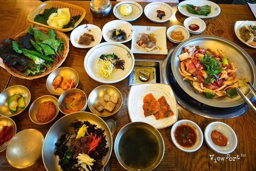 경주맛집] 경주만의 특색 곤달비비빔밥과 경주쌈밥으로 유명한 별채반 교동쌈밥