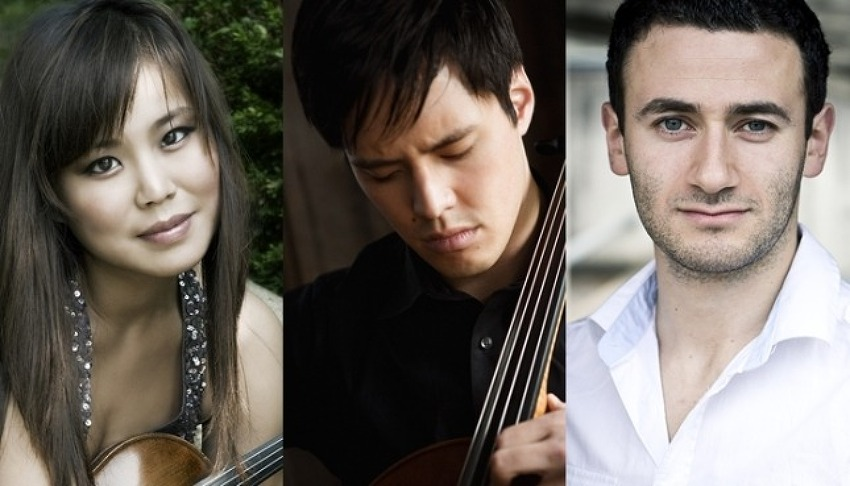 제433회 하우스콘서트 - 김소진(Violin), Michael Nicolas(Cello), Boris Kusnezow(Piano)