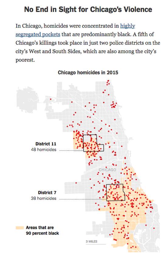 미국 대도시 범죄율 증가