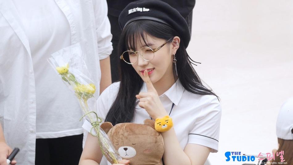 170910 코엑스 프리스틴 팬사인회 시연 직캠 by 스피넬