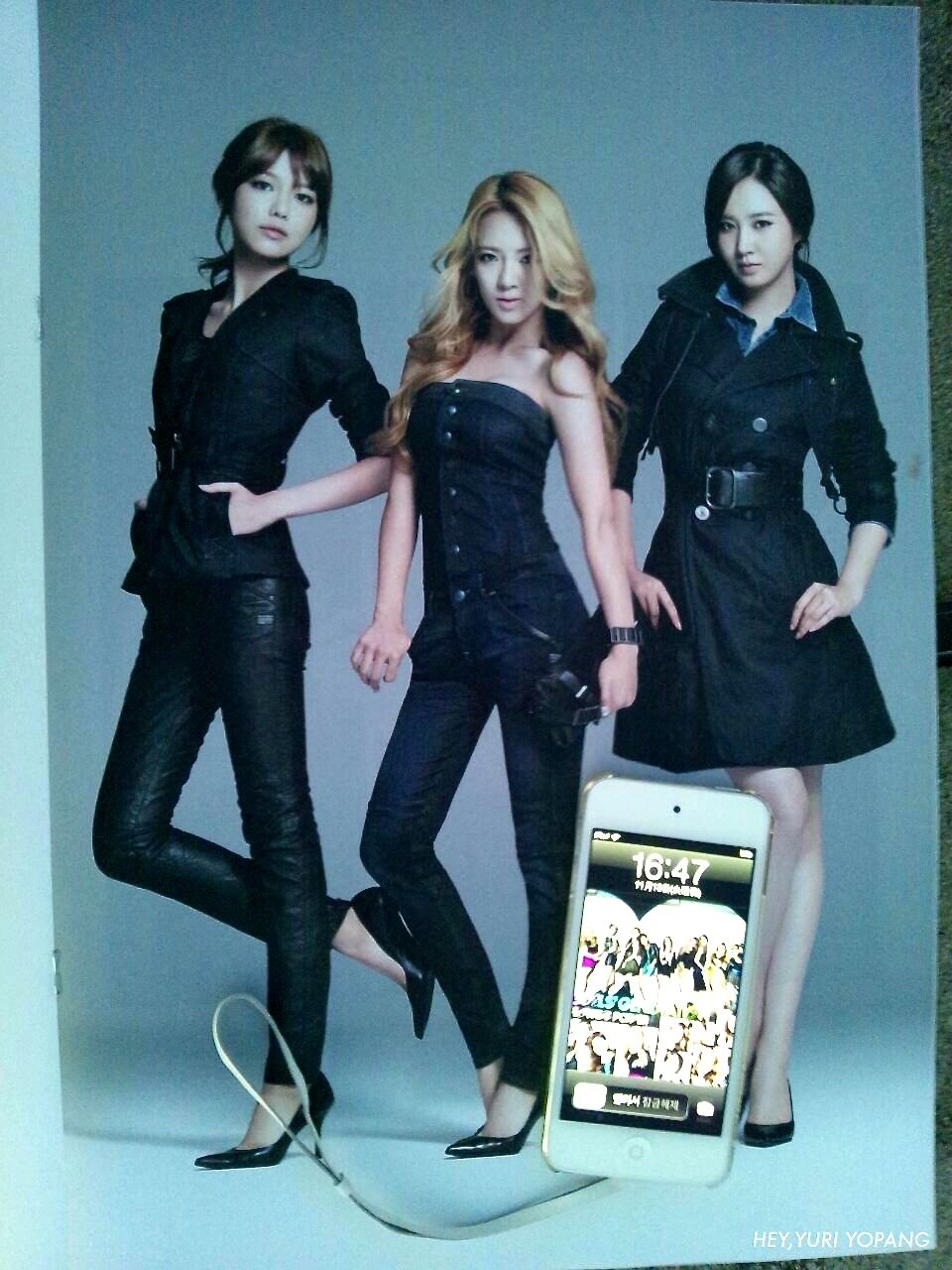 G-STAR RAW & GIRLS' GENERATION 카탈로그