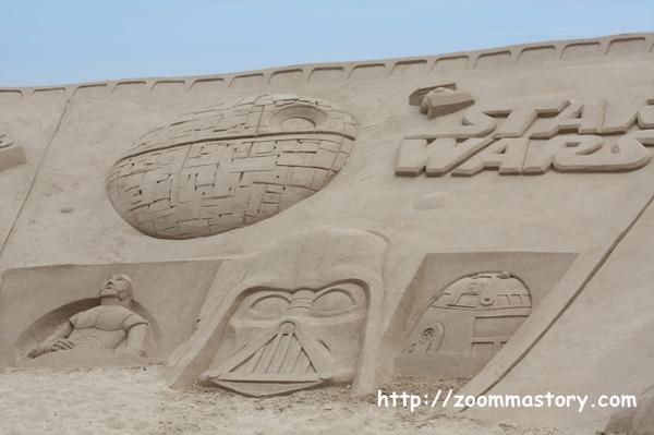 부산모래축제, 작품