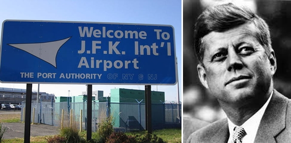 JFK 와 존 에프 케네디