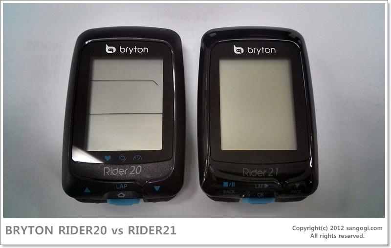 BRYTON RIDER20 vs RIDER21