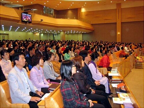 송내 사랑의 교회 강연 성도님들