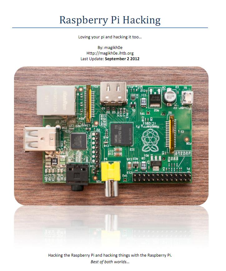 getting started with raspberry pi matt richardson pdf