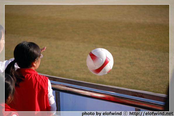.. 공을 돌려주는 데 어린이가 던져 힘이 딸렸음 ㅋㅋㅋ