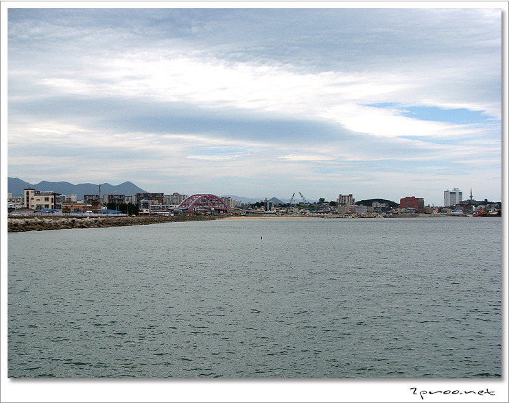 속초 청호대교, 속초 해수욕장 주변 사진