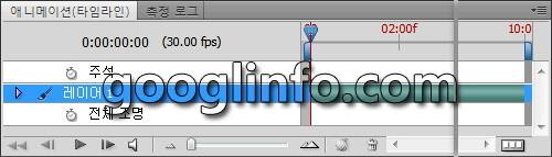 포토샵 CS5 강좌, 애니메이션 패널, 타임라인,             Animation panel, Timeline