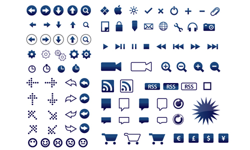 Design resources :: 165 벡터 아이콘_5 colours