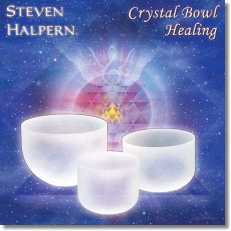 [음반] Crystal Bowl Healing / Steven Halpern 크리스탈 주발 음악