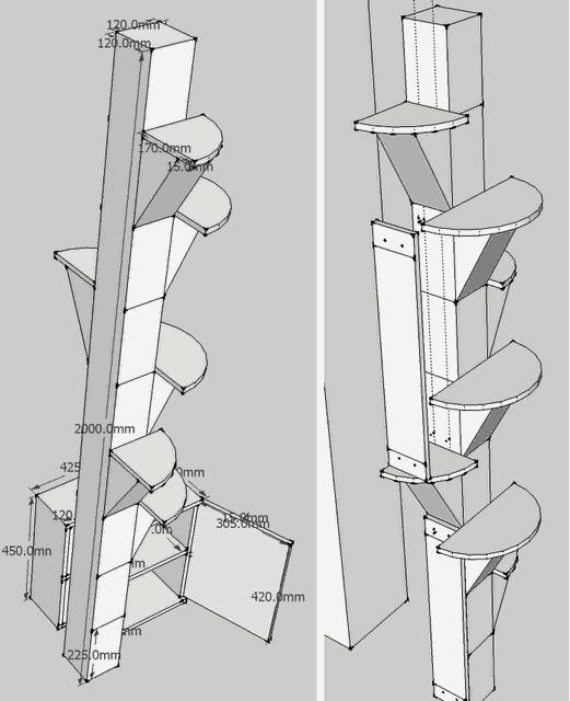 캣타워 디자인 3
