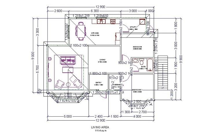 나무하우스 :: 전원주택 40평