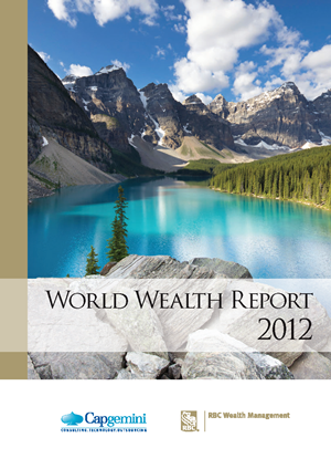 RBC와 Capgemini에서 발표하는 World Wealth Report 2012 자료입니다.
