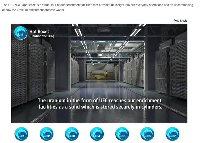 우라늄농축의 모든 것- 우렌코, 우라늄농축과정 동영상 공개