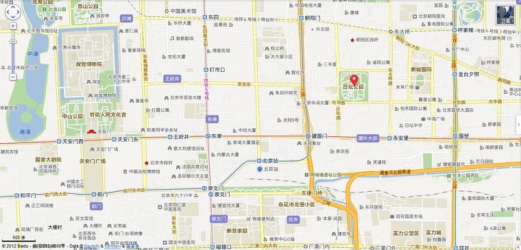 베이징 일단공원(日坛公园)관련 정보