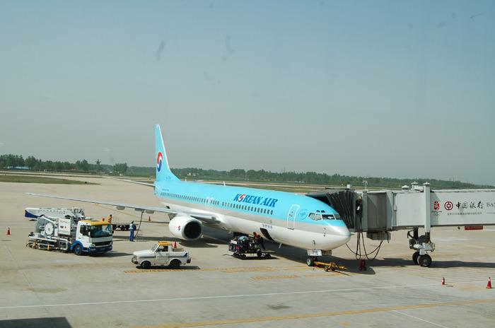 중국 하남성 신정공항