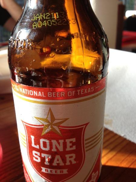 먹튀 맥주(?) - 텍사스 상징인 외로운 별
