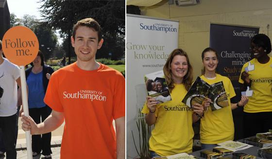 2011년 진행한 사우스햄튼대학 오픈데이 출처: 사우스햄튼대학 공식페이스북