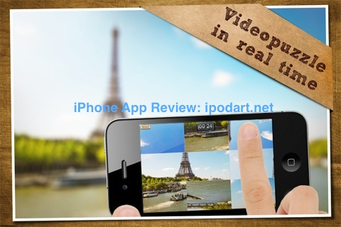 아이폰 아이팟터치 아이패드 동영상 퍼즐 VideoPuzzle!