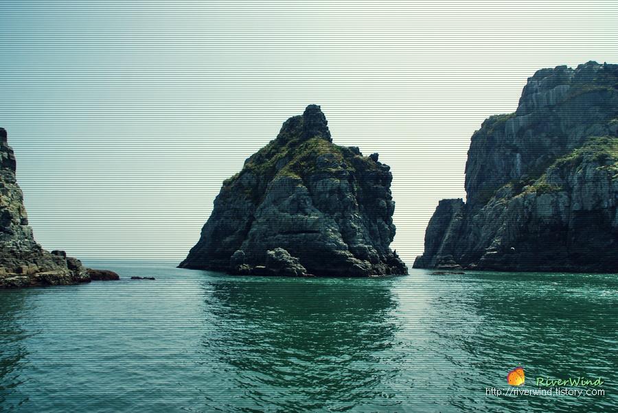 오륙도 전경 송곳섬