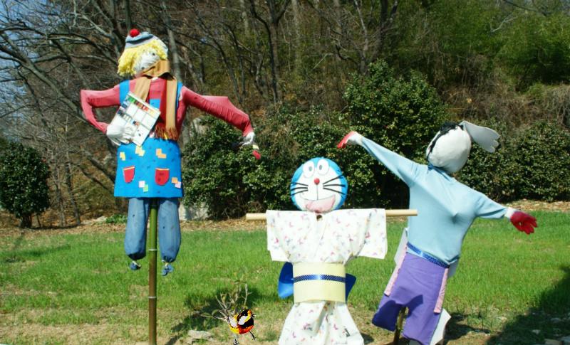 허수아비,稻草人,scarecrow,かかし