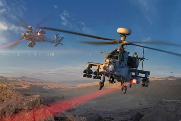 미군이 아파치에 장착해 시험 성공한 레이저 무기의 정체