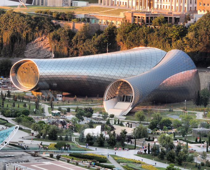 *조지아 트빌리시의 독창적 문화공간-[ Massimiliano & Doriana Fuksas ] Music Theatre and Exhibition Hall