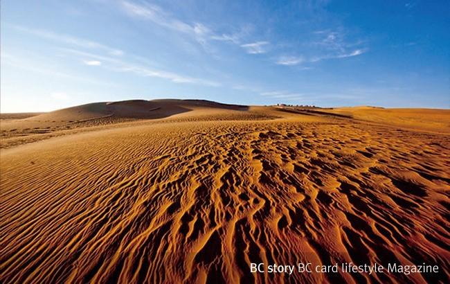 내몽고 쿠부치 사막