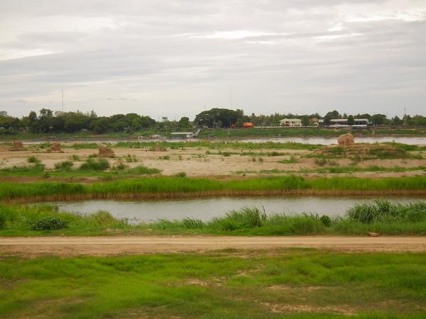 라오스 메콩강