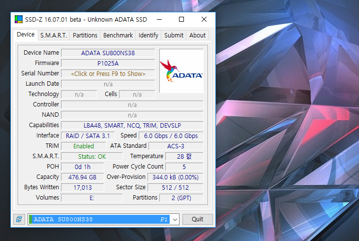ADATA SU800 ,512GB ,M.2 SSD ,저렴하고 ,고용량 SSD,IT,IT 제품리뷰,SSD를 이제는 안쓰시는 분들이 없을 겁니다. 근데 용량은 잘 선택해야합니다. ADATA SU800 512GB M.2 SSD 저렴하고 고용량 SSD를 소개 합니다. 이제는 128GB 용량의 저장장치는 너무 가격이 저렴해졌습니다. 근데 그만큼 애매하죠. ADATA SU800 512GB는 용량이 넉넉해서 게임을 많이 설치하는 유저들에게도 적당한 제품 입니다. SSD를 고르실 때 지금 쓰시는 C드라이브의 사용공간을 고려하셔서 용량을 택하시는게 좋습니다. 무턱대고 싼것만 구매하시면 좋지 않습니다.