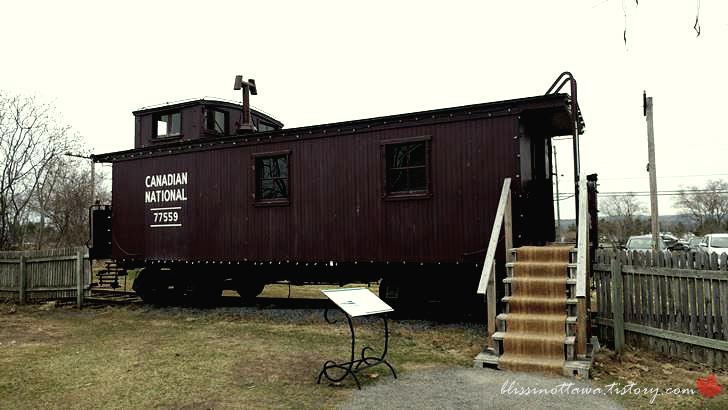 1900년대 캐나다 기차입니다