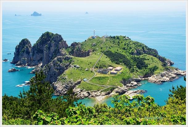 소매물도와 등대섬