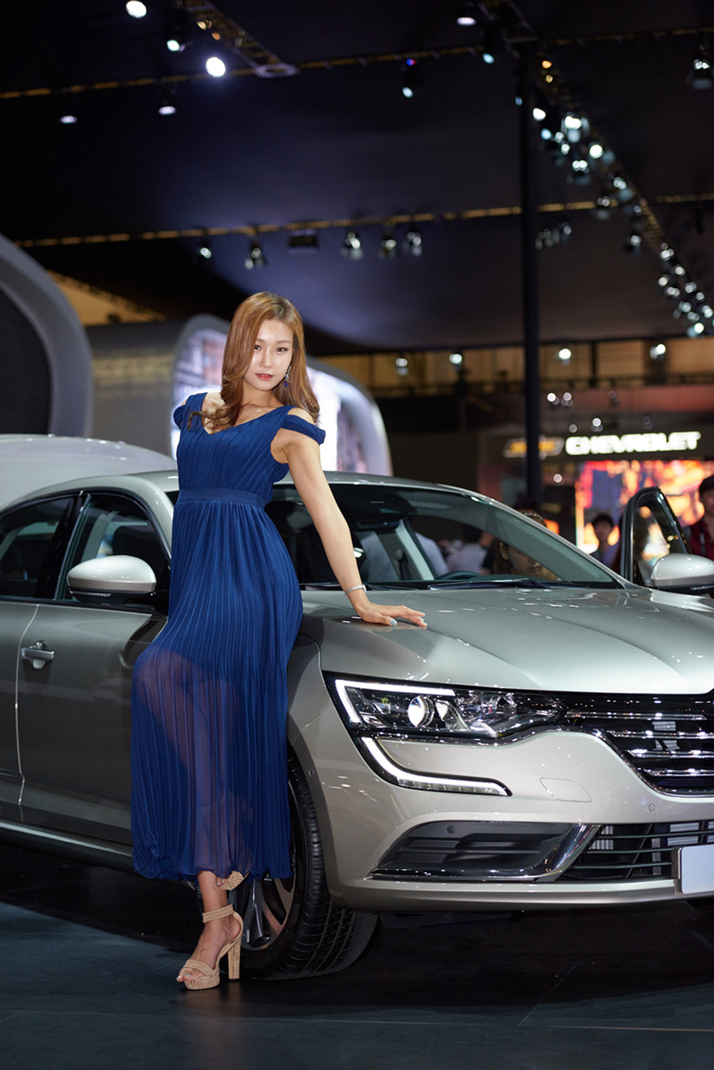 Renault Samsung Model - 김지연
