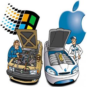 애플 마이크로소프트