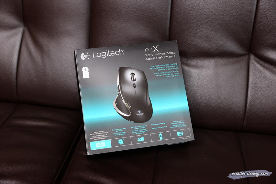 로지텍 퍼포먼스 MX 마우스 개봉기