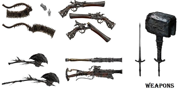 Best Hunter Builds Bloodborne
