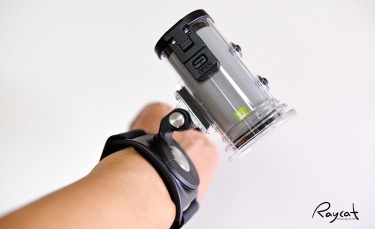 lg 액션캠 방수케이스 결합 고프로 스트랩에