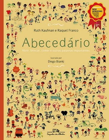 [포르투갈어 책 소개] Abecedário - 미취학 아동을 위한 말배우기 책
