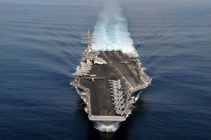 US 핵항공모함 니미츠호(USS Nimitz, CVN-68), 부산입항