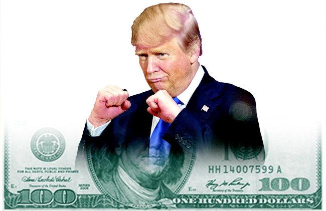 [사설]트럼프가 예고한 미·중 통화전쟁의 그림자